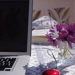 Arbetsplats i solen