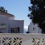 Arbetsplats på balkongen